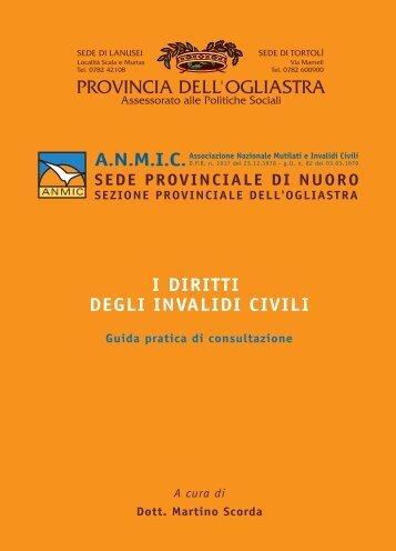 ANMIC - Diritti.pdf - Provincia dell'Ogliastra