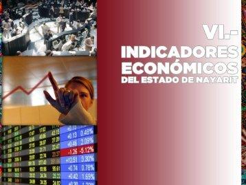 6.- INDICADORES ECONOMICOS DEL ESTADO DE NAYARIT