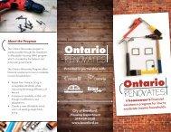 Ontario Renovates