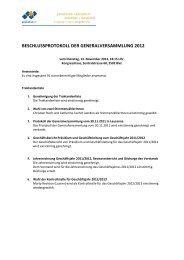 beschlussprotokoll der generalversammlung 2012 - Palliative ch