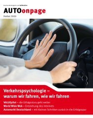 Verkehrspsychologie – warum wir fahren, wie wir fahren - AUTOonline