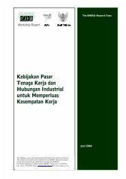 Kebijakan Pasar Tenaga Kerja dan Hubungan Industrial untuk ...
