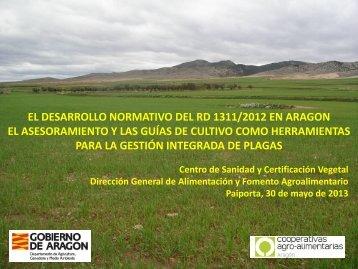 EL DESARROLLO NORMATIVO DEL RD 1311/2012 EN ARAGóN ...
