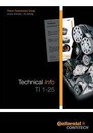 Technical Info 1-25 - ContiTech AG