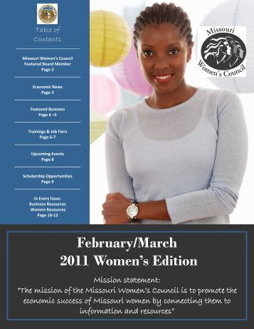September 2010 Women's Edition February/March 2011 Women's ...