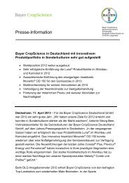 Presseinformation als PDF-Dokument - Bayer CropScience ...