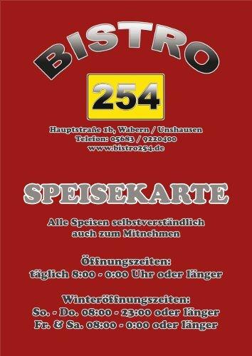 SPEISEKARTE - 1stcellmedia.de