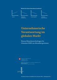 Unternehmerische Verantwortung im globalen Markt - The ...