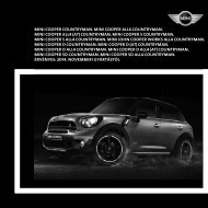 R60 mini countryman 2011