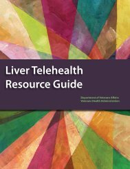 Liver Telehealth Resource Guide - Hepatitis C