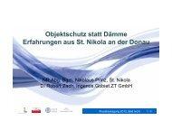 Publikation downloaden - Wasser, Klimawandel & Hochwasser