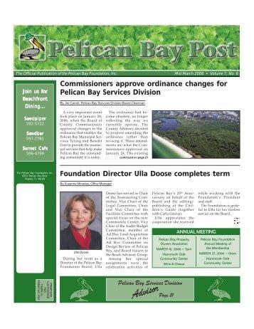 Mid March 2006 - Pelican Bay