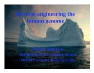 Introduction to Computational Biology and Bioinformatics.