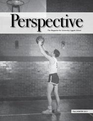 Perspective, Fall 2011 - University Liggett School