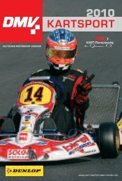 KARTSPORT - Deutscher Motorsport Verband e.V.