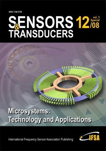 Sensors & Transducers - Marc Madou - University of California, Irvine