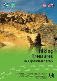 Hiking treasures of Fljótsdalshérað - East Iceland