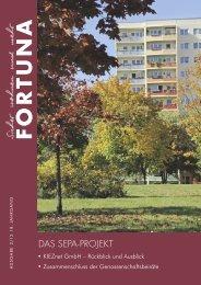 Nr. 02/2013 - FORTUNA Wohnungsunternehmen eG