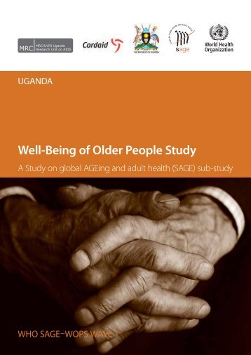 Well-Being of Older People Study - Multiple Choices - World Health ...