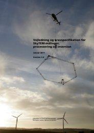 Vejledning og kravspecifikation for SkyTEM-m'linger - Aarhus ...