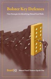 Bolster Key Defenses - Nine Strategies for ... - Interactive Data