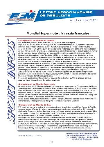 sport infos 13.qxd - Moto Station