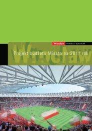 Projekt budżetu Miasta na 2011 rok