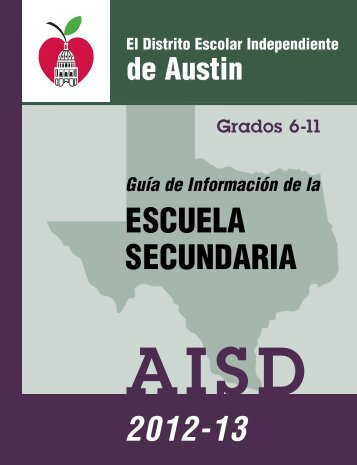 ESCUELA SECUNDARIA 2012-13 - Austin ISD
