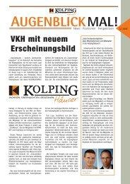 Augenblick 6/05 - Verband der Kolpinghäuser eV