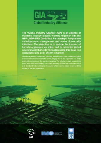 PDF file - Global Ballast Water Programme - IMO