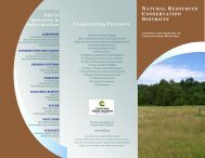 natural resources conservation districts - NERC