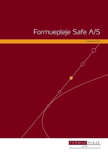 Formuepleje Safe A/S