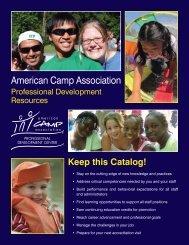 Resource Catalog - American Camp Association