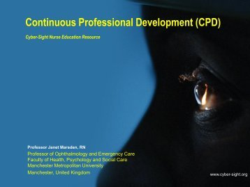 Why is CPD Important for Nursing? - Cyber-Sight