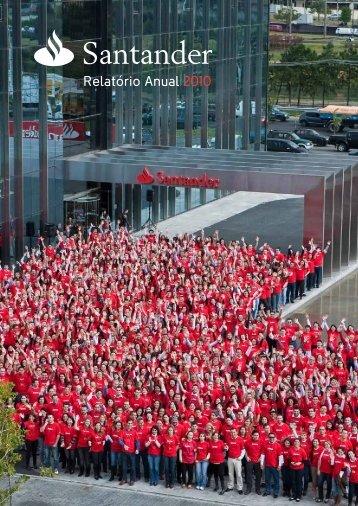 Relatório Anual 2010 - Santander