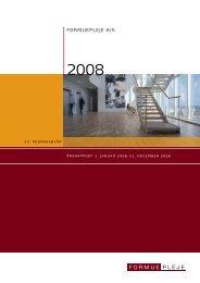 Årsrapport 2008 - Formuepleje