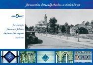 Maršruti pa Jūrmalas pilsētas kultūrvēsturiskajiem centriem