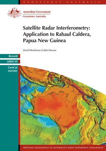 Satellite Radar Interferometry - Geoscience Australia