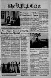 The Cadet. VMI Newspaper. October 13, 1961 - New Page 1 [www2 ...