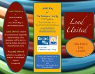 Lend United - United Way of Bartholomew County