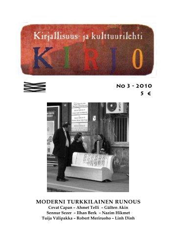 Nr 3 / 10 TURKKI - Palladium Kirjat