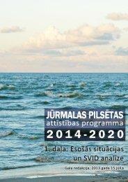 Esošās situācijas un SVID analīze - Jūrmala