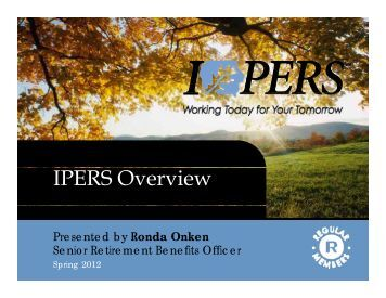 IPERS Overview