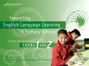 Years 1 and 2 - ESOL - Literacy Online