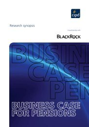 Research synopsis - CIPD