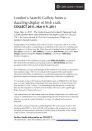 download document - Crafts Council of Ireland
