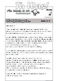 Spielregeln - Hoppen Innenausbau GmbH