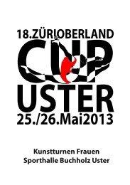 Programm ZO-Cup 2013, PDF, 9 MB - Satus Uster