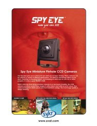 Spy Eye Miniature  Pinhole CCD Cameras