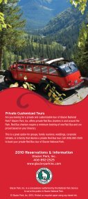 Red bus tourS - Glacier Park Inc. - Page 6
